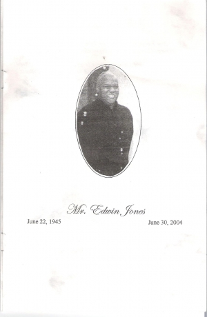 Edwin Jones (1945-2004)