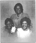 Lizzie Smith-Townsend and her daughters, Alberta Townsend-Nichols and Inez Townsend-Marshall