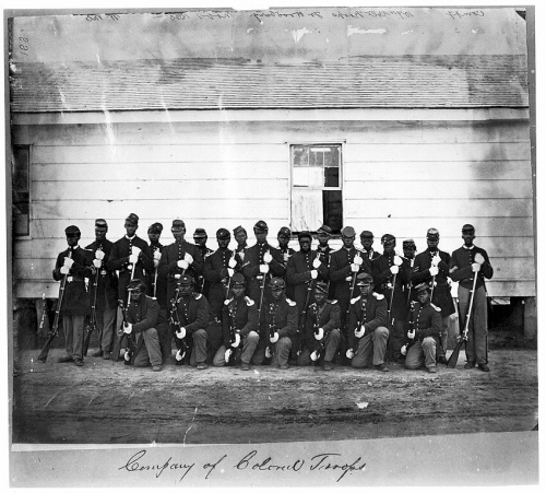 Black Union Soldiers in the Civil War