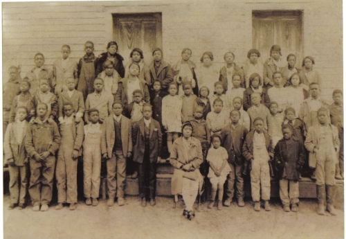 Enon Springs School in the 1920's