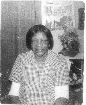 LILLIE FREEMAN-RICHARDSON (Daughter-in-law of DENNIS RICHARDSON SR. (Wife of ISAIAH (MUNCH) RICHARDSON)